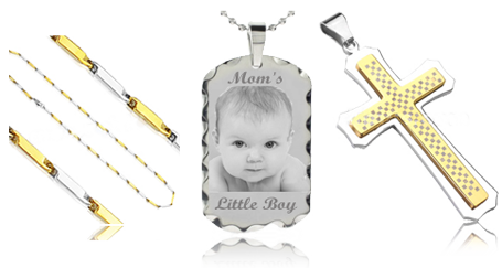 Picture engraved pendant photo engrave photo engraving aloadofball Image collections